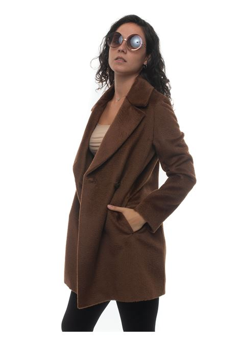 Double-breasted coat Cinzia Rocca | 17 | T148005-60H97