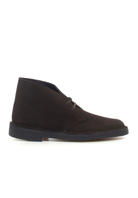 Suede ankle boots Clarks | 12 | 138229BROWN