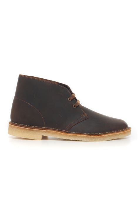 Leather ankle boots Clarks | 12 | 155484BEESWAX
