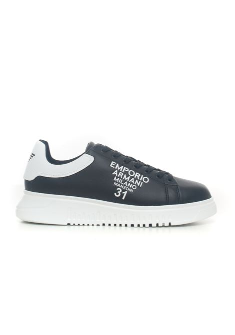Leather sneakers Emporio Armani | 5032317 | X4X264-XM552N300