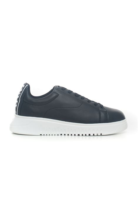 Leather sneakers with laces Emporio Armani | 5032317 | X4X312-XM490K001
