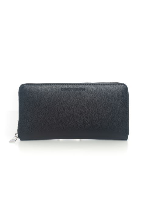 Rectangular purse with zip in leather Emporio Armani | 63 | Y4R169-YEW1E81072