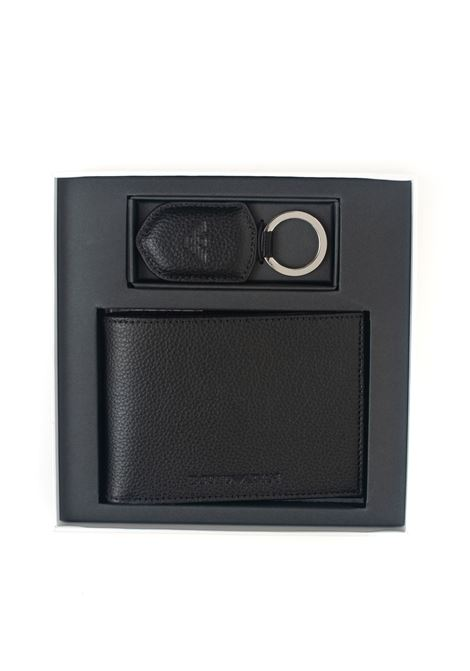 Set wallet and keyring Emporio Armani | 63 | Y4R222-YEW1E81072