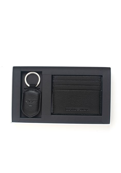 Set of cardholder and keychain Emporio Armani | 63 | Y4R264-YEW1E81072