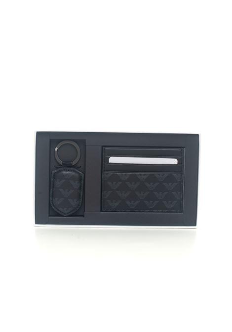 Set of cardholder and keychain Emporio Armani | 63 | Y4R264-YTO2J84284