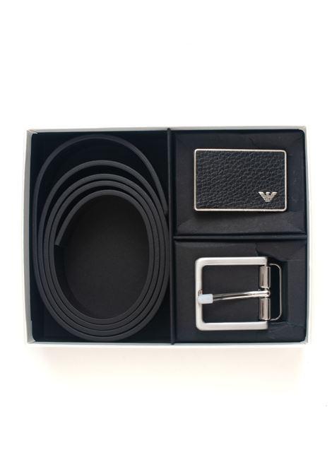 Leather belt Emporio Armani | 20000012 | Y4S225-YMB4E88044
