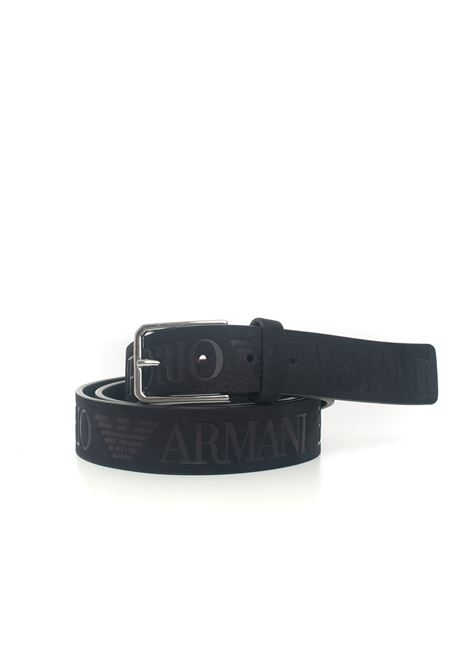 Leather belt big size Emporio Armani | 20000041 | Y4S421-YTG2E80001