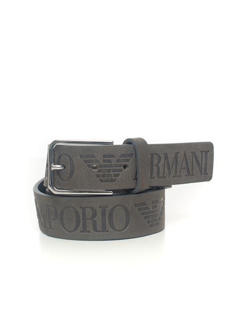 Leather belt big size Emporio Armani | 20000041 | Y4S421-YTG2E8002