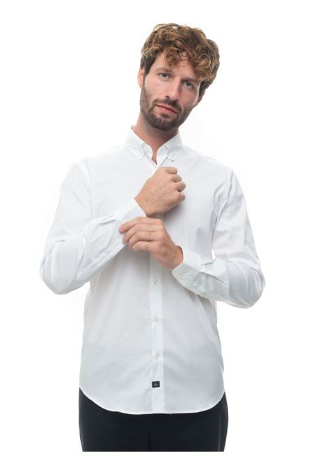 Camicia casual Fay | 6 | NCMA141258S-ORMB001