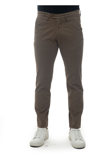 Pantalone modello chino Filetto | 9 | CLARK-C260174 TERRA