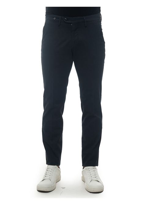 Pantalone modello chino Filetto | 9 | CLARK-C260202 NAVY
