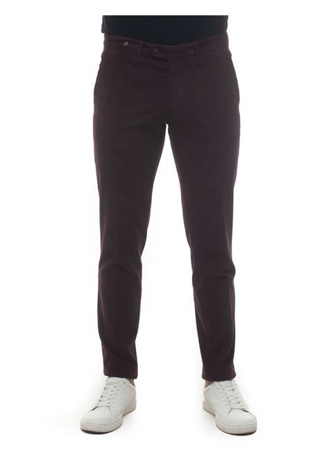 Pantalone modello chino Filetto | 9 | PRINCIPE-VANCOUVER8465MOSTO
