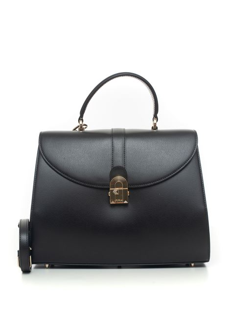 1927 Big-bag in leather Furla | 31 | BAPMJBX-AVO000O6000-NERO