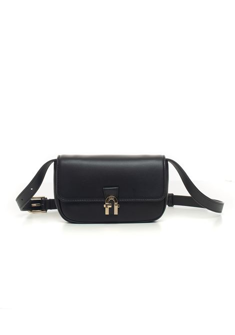 Furla Cosy Leather Belt Pack Furla | 20000091 | EBD9EVK-NAB000O6000-NERO