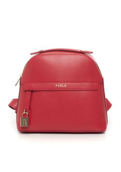 Zaino di pelle Furla Piper Furla | 5032307 | BAHYFPI-ARE000RUB00-RUBY