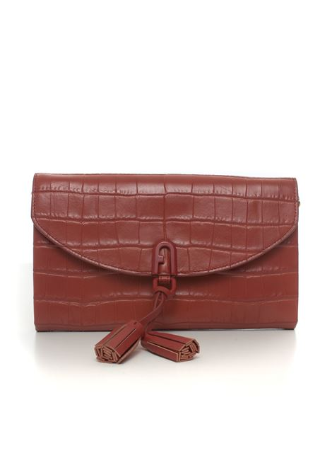 furla 1927 tassel - cocco con catena Furla | 62 | WE00022-KO0000015S-CHILI OIL