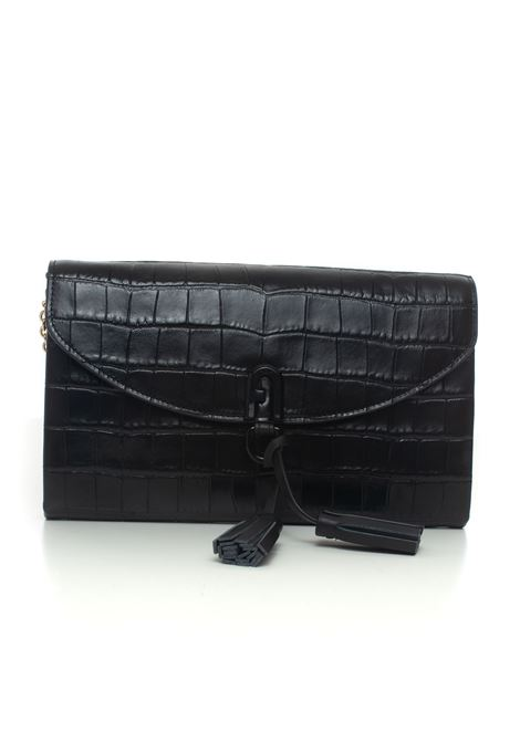 1927 Tassel shoulder clutch Furla | 62 | WE00022-KO000O6000-NERO