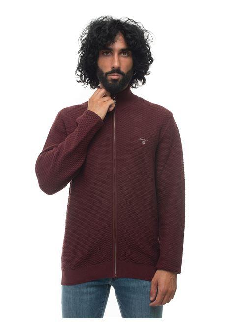 Pullover zip intera Gant | 39 | 8030032678