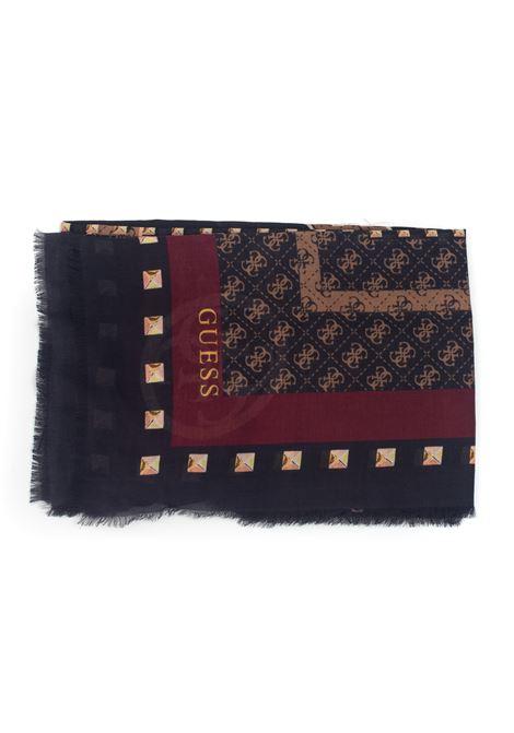 KATEY Fantasy scarf Guess | 77 | AW8549-MOD03BRO