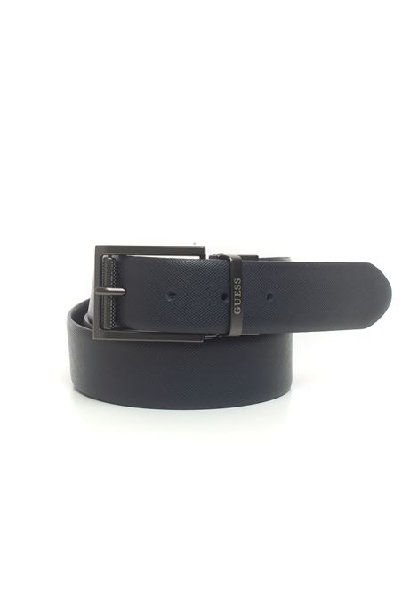 REVERSIBILE LUXE Belt Guess | 20000041 | BM7300-LEA35BLU