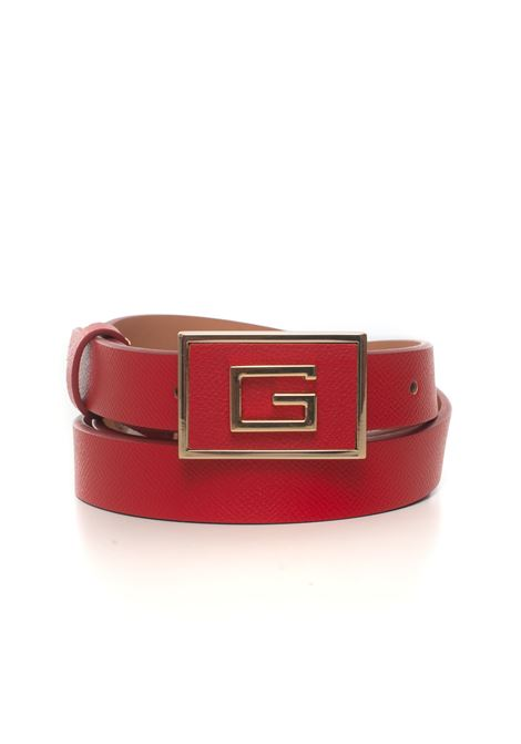 Buckle belt with logo detail Guess | 20000041 | BW7339-VIN25RED