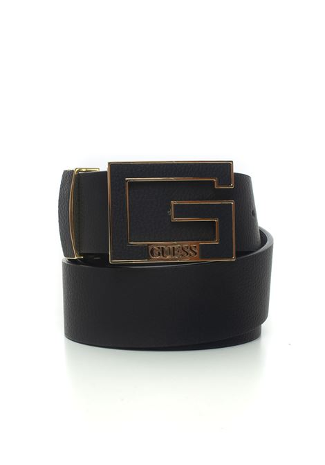 Buckle belt with logo detail Guess | 20000041 | BW7354-P0340BLA