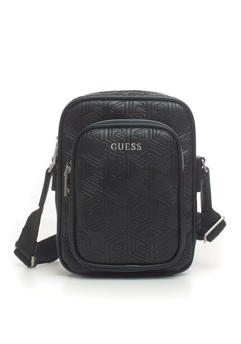 Shoulder bag in logo-textile Guess | 20000001 | HMBALD-P0426BLA