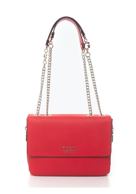 Borsa rettangolare media Chain Guess | 31 | HWRG77-39210RED