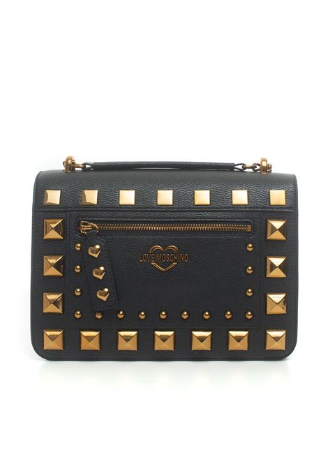 Shoulder bag with chain Love Moschino | 31 | JC4280PP0B-KO0000