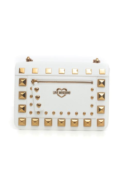 Shoulder bag with chain Love Moschino | 31 | JC4280PP0B-KO0100