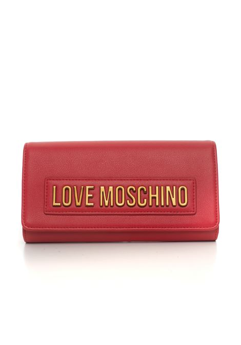 Wallet with press stud tab fastener Love Moschino | 63 | JC5625PP1B-LK0500