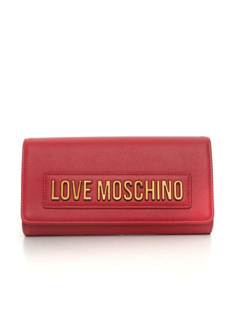 Portafoglio con chiusura a ciappa Love Moschino | 63 | JC5625PP1B-LK0500