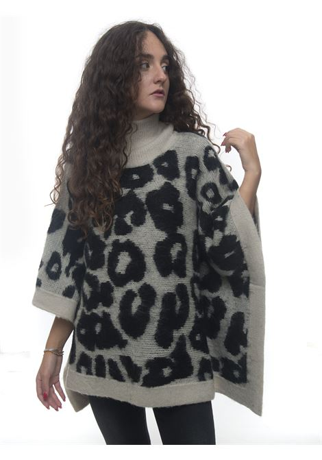 Knit cape Luckylu | 20000022 | 30LLGM02BR1522