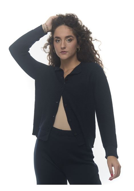 Cardigan in maglia inglese Maria Bellentani | 3 | 21130714