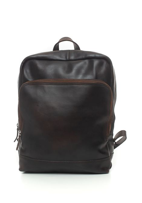 Leather rucksack MINORONZONI 1953 | 5032307 | MRF202B103C60