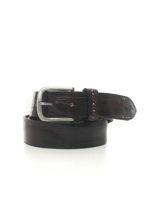 Leather belt MINORONZONI 1953 | 20000041 | MRF203C016C60