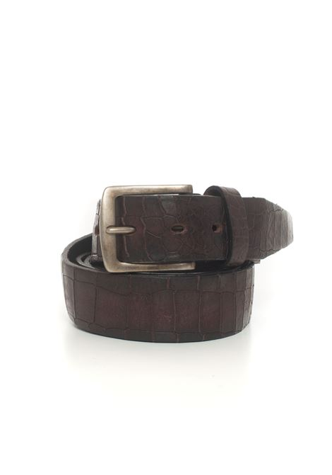 Leather belt MINORONZONI 1953 | 20000041 | MRF204C022C60