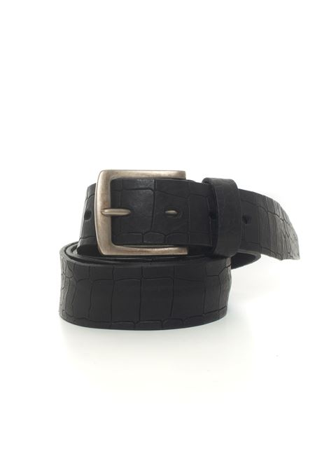 Leather belt MINORONZONI 1953 | 20000041 | MRF204C022C99