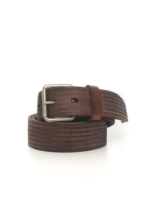 Leather belt MINORONZONI 1953 | 20000041 | MRF204C024C60