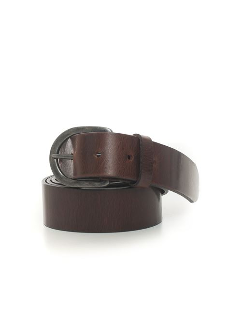 Leather belt MINORONZONI 1953 | 20000041 | MRF206C034C60