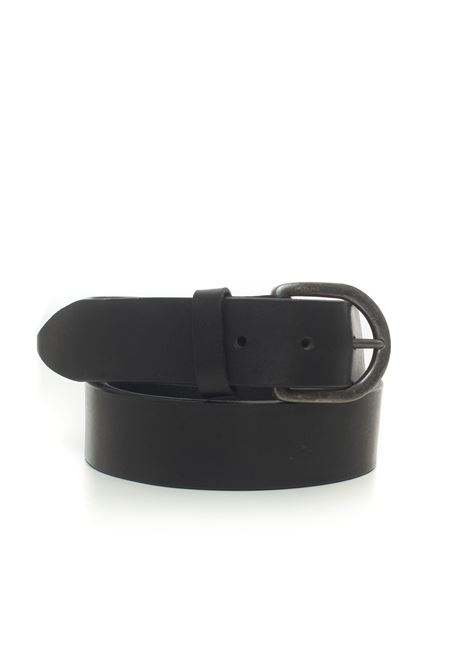 Leather belt MINORONZONI 1953 | 20000041 | MRF206C034C99