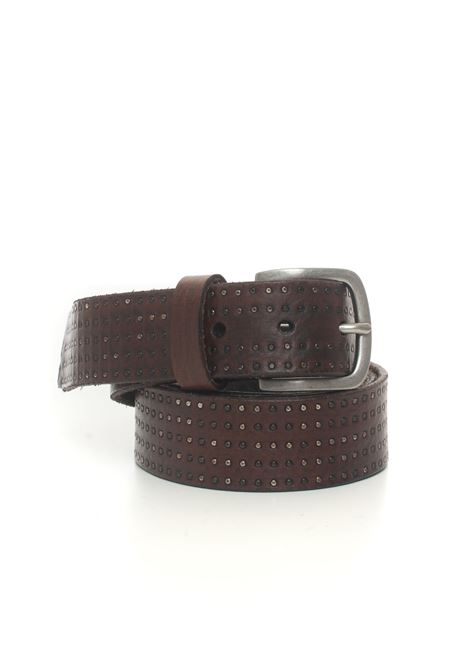 Leather belt MINORONZONI 1953 | 20000041 | MRF209C047C60