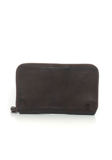 Zip leather wallet MINORONZONI 1953 | 63 | MRF209P180C60