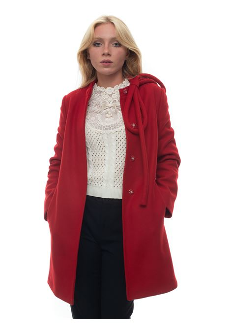 Cappotto avvitato Red Valentino | 17 | UR3CAC00-56038Z
