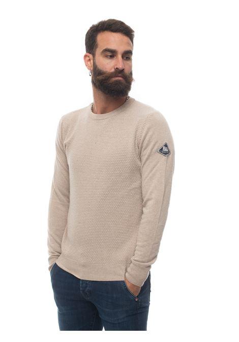CrewNeck Round-neck pullover Roy Rogers | 7 | CREWNECK-PUNTO GOFFRATO5