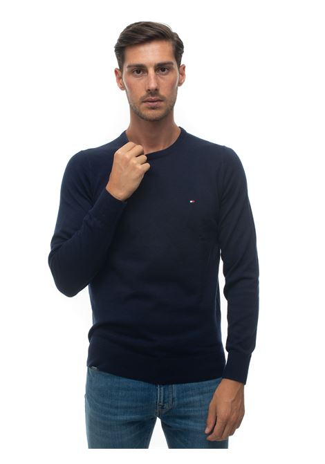 Pullover girocollo Tommy Hilfiger | 7 | MW0MW14598DW5
