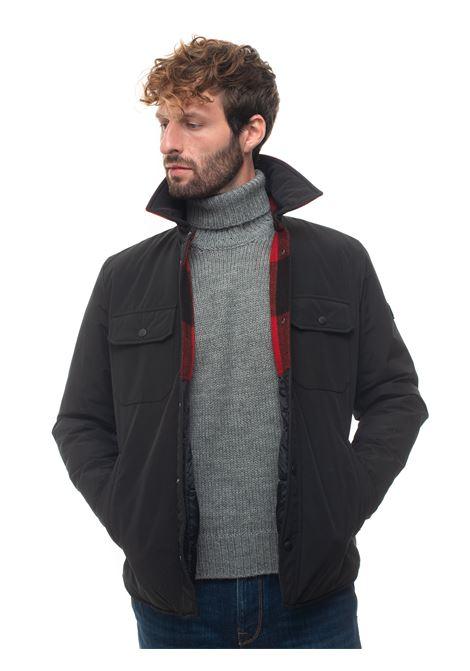 ROWLAND REVERSIBLE SHIRT reversible jacket Woolrich | -276790253 | WOOU0277MR-UT0001BLK