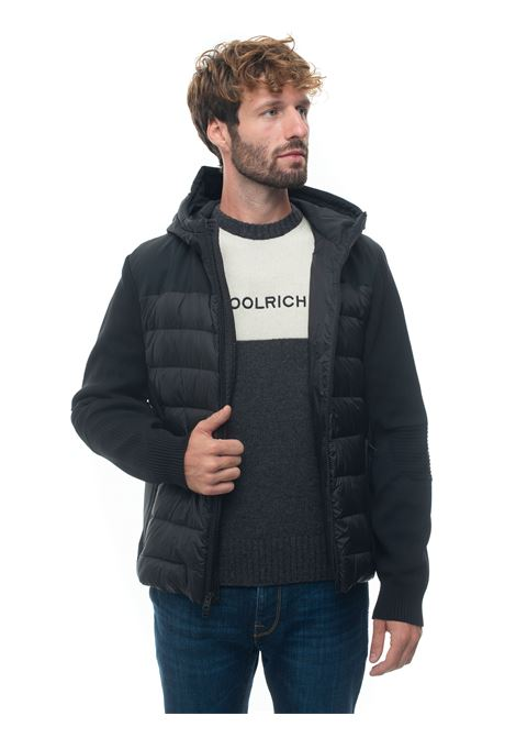 Giubbino trapuntato TECH KNIT HOODED JACKET Woolrich | -276790253 | WOOU0331MR-UT2492100