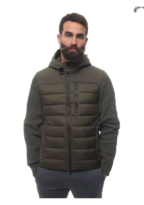 TECH KNIT HOODED JACKET quilted jacket Woolrich | -276790253 | WOOU0331MR-UT2492614