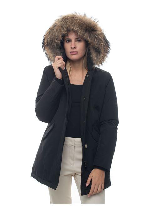 Giaccone con cappuccio Arctic Parka Pelliccia Racoon Woolrich | 20000057 | WWOU0299-UT0001BLK